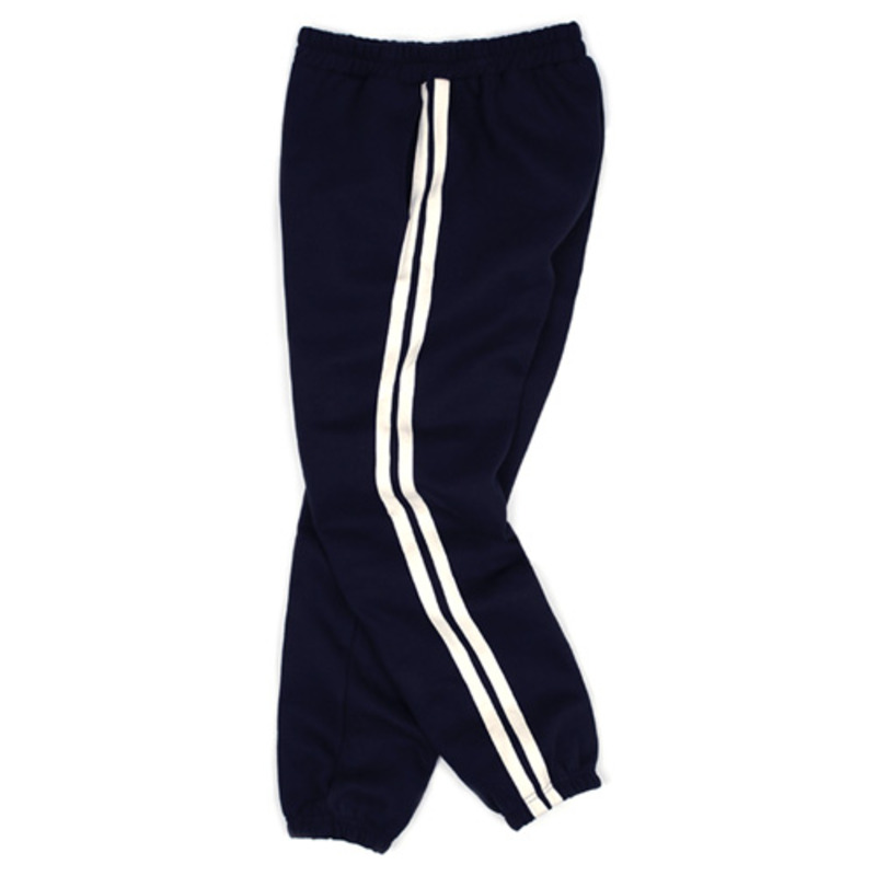 1801 Tape sweat pants(Navy) / standard