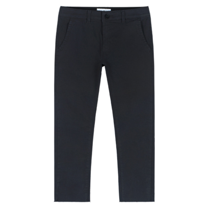 1803 Cutting cotton pants(Charcoal) / slim