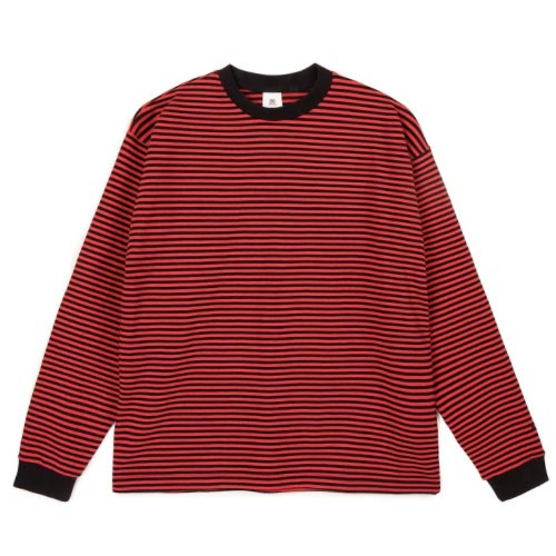 2809 Stripe t-shirt(Red)