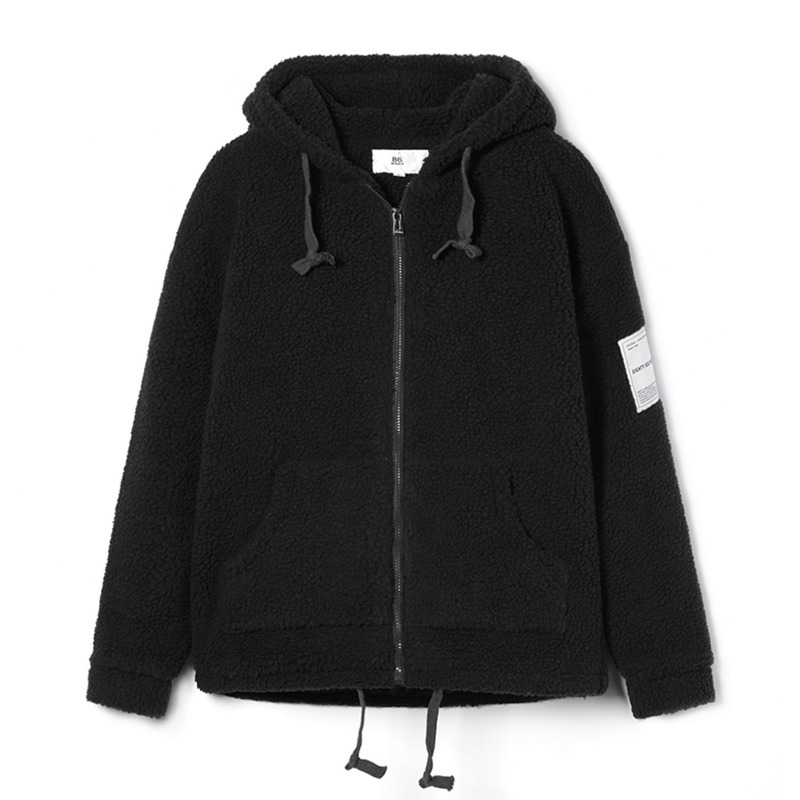 BOA HOOD ZIP-UP(Black)