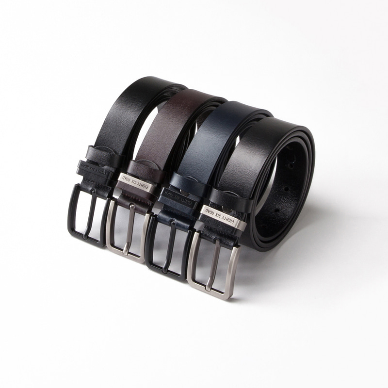 ESR LOGO  ITALIAN LEATHER BELT
